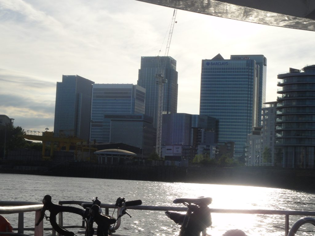 Ir a Greenwich de barco. O que fazer em Londres