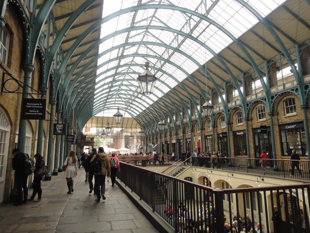 Covent Garden. O que fazer em Londres