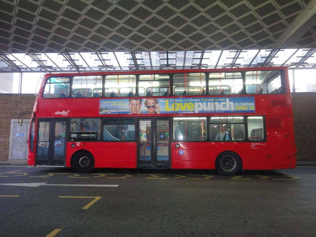 Símbolos de Londres: Ônibus vermelho de dois andares