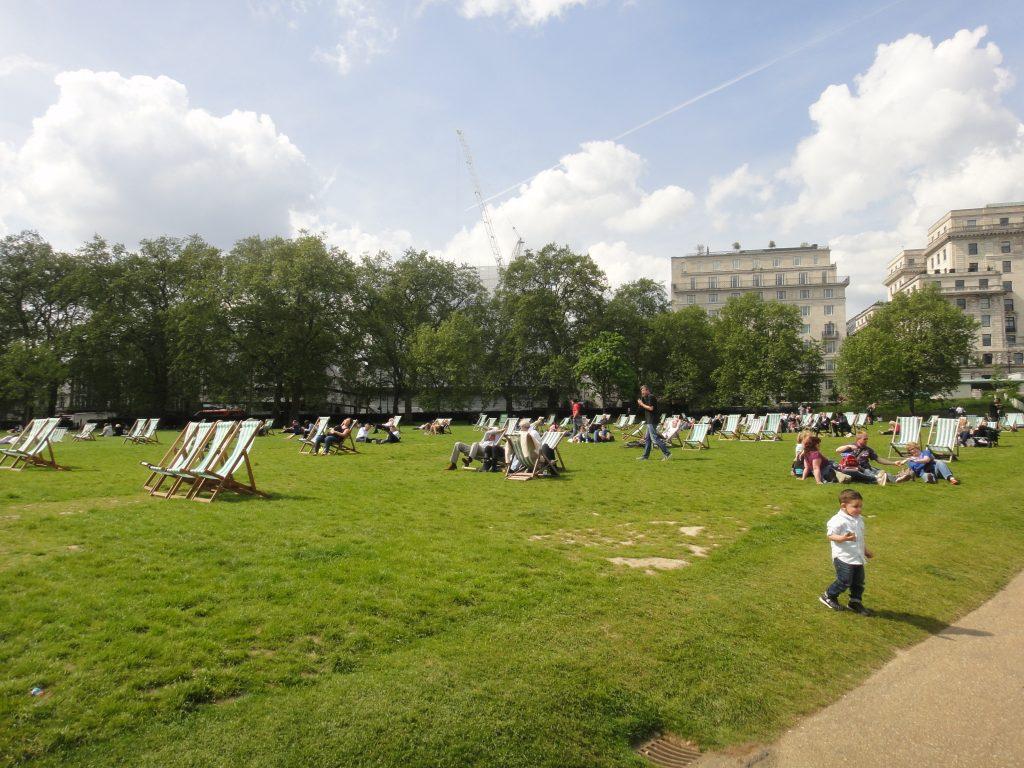Green Park - Parques reais em Londres