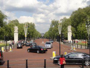 The Mall, o que fazer em Londres