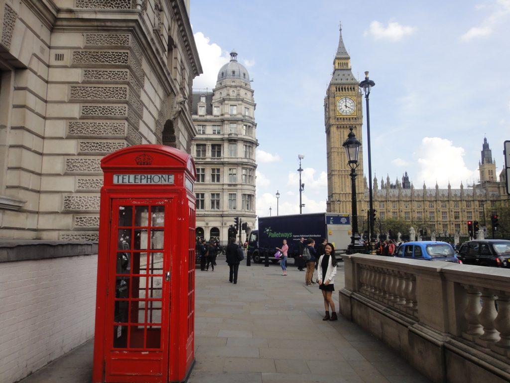 Símbolos de Londres: Cabines vermelhas de telefone