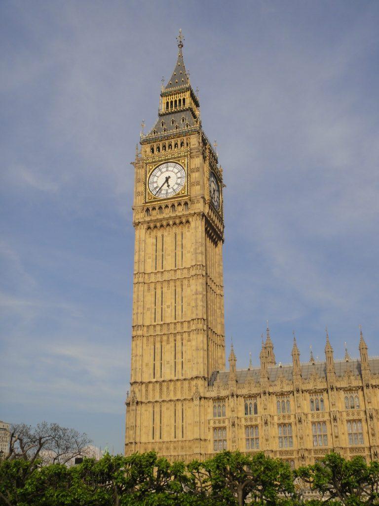 Big Ben - O que fazer em Londres