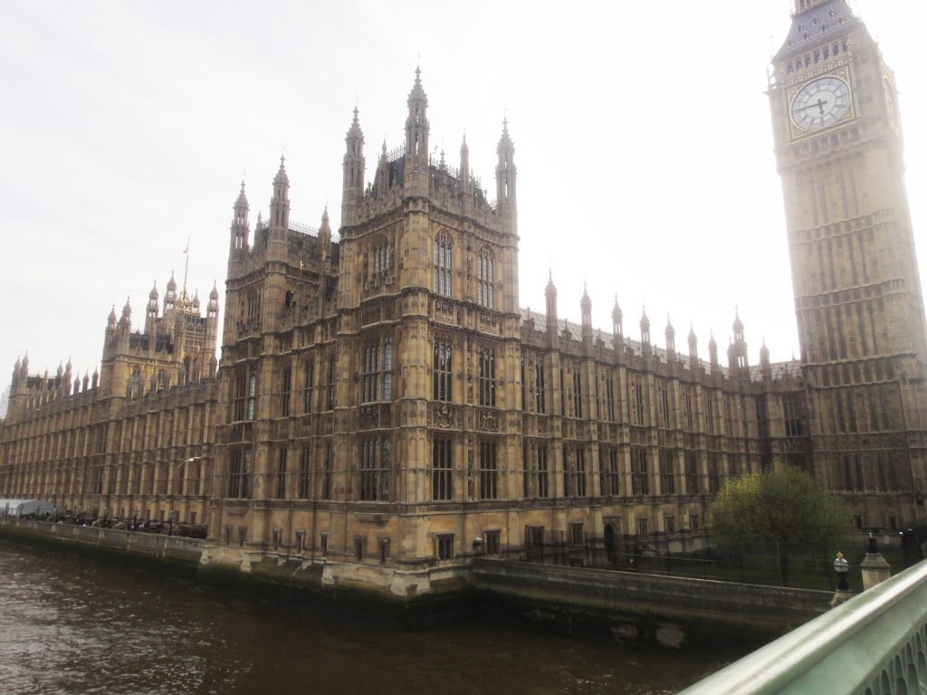Casas do Parlamento. O que fazer em Londres