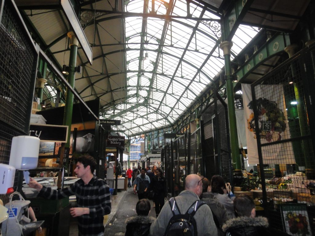 Mercados de Londres - Borough Market