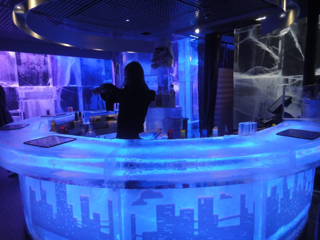 IceBar Londres - O que fazer em Londres