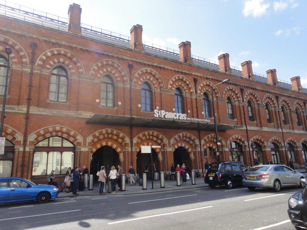 Estação St Pancras, Londres. Estação que pega o EuroStar para Paris