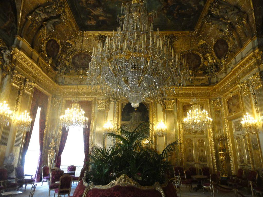 Os aposentos de Napoleão - Louvre