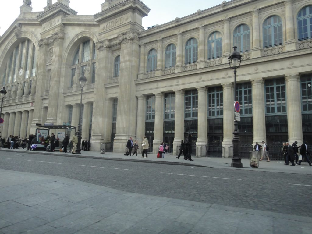 Garu du Norde - Viajando Londres x Paris