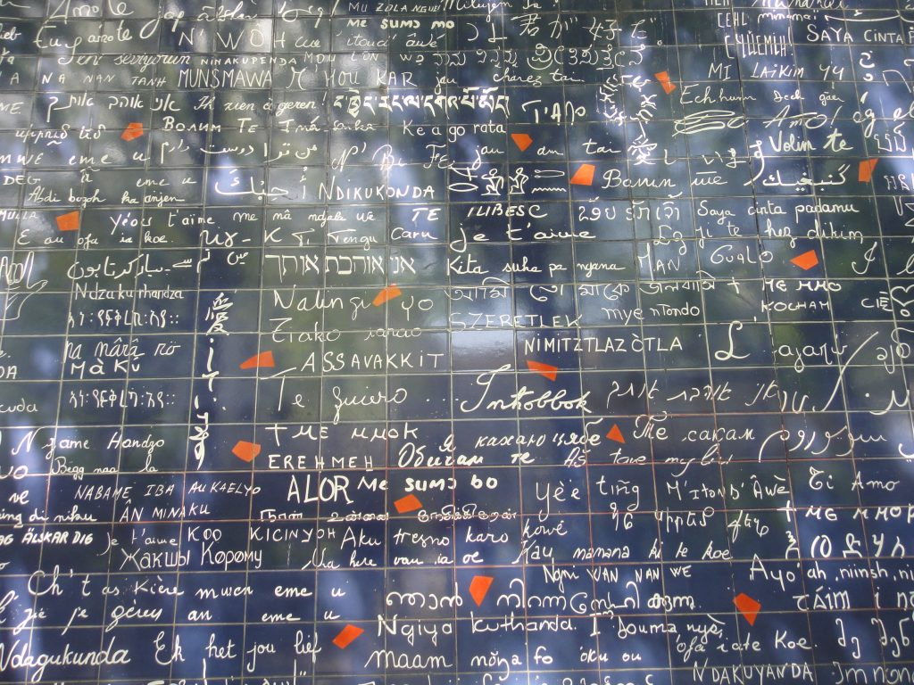 Muro do Eu te amo - Paris