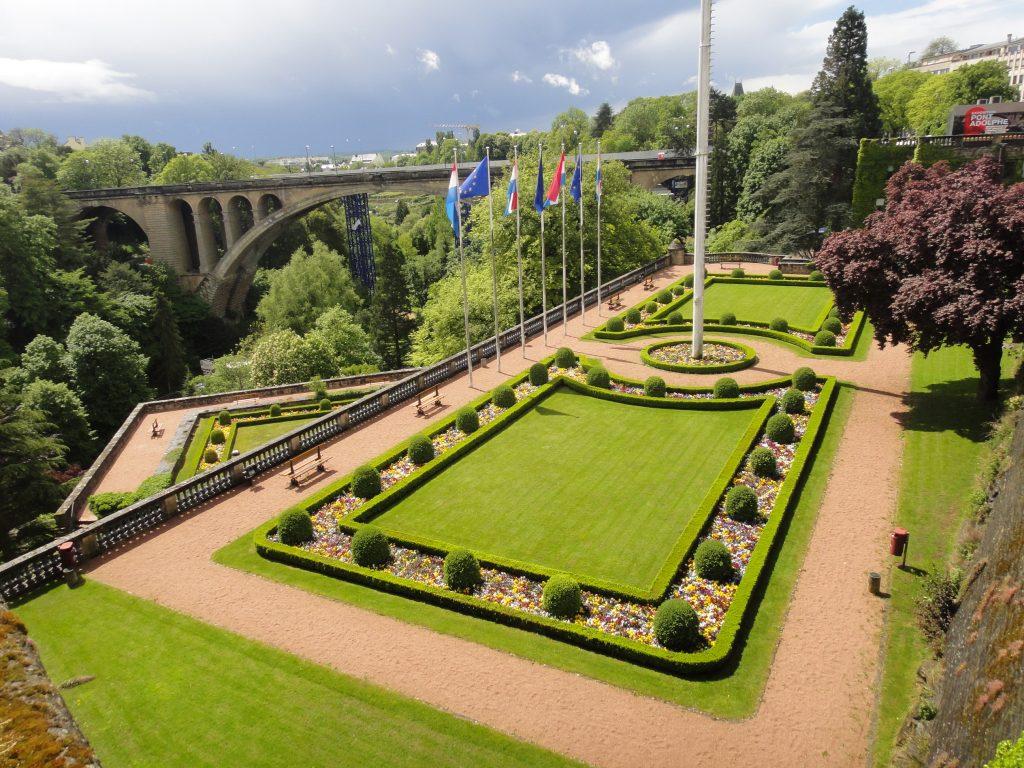 Um dia em Luxemburgo
