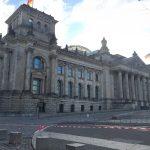 Visitando o Reichstag em Berlim, a sede do parlamento alemão