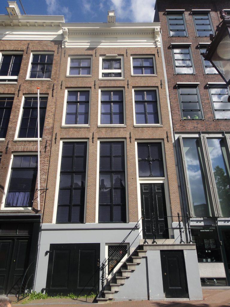 Casa de Anne Frank em Amsterdam