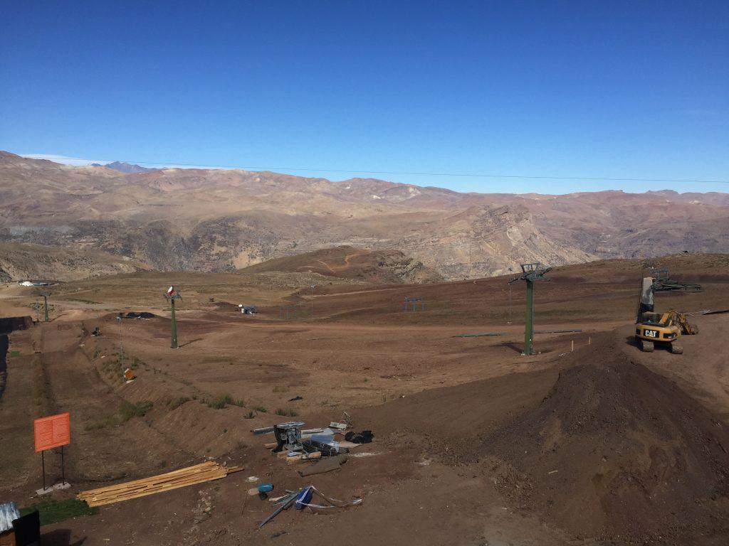 Valle Nevado seco