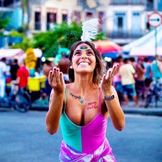 Bloquinhos de carnaval em Salvador