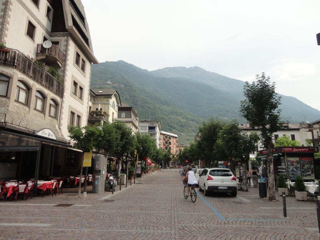 Tirano, a cidade do Bernina Express