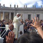 Audiência Pontifícia Vaticana: Nosso encontro próximo com o Papa Francisco