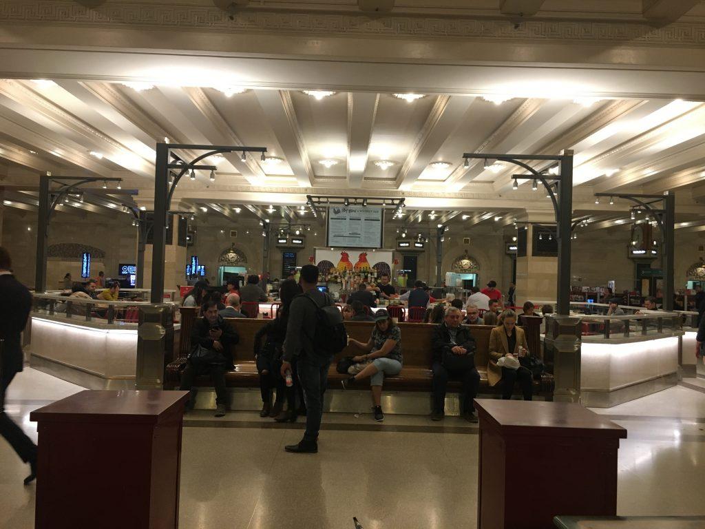 O subsolo do Grand Central Terminal