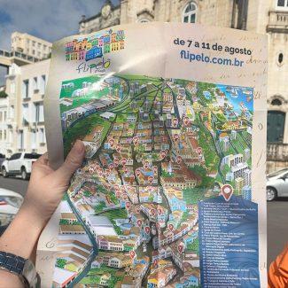 Mapa Turistico Salvador