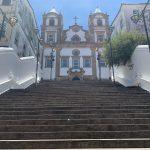 Pintura do muro da Escadaria do Passo | Pensar Salvador