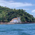 Ilha dos Frades, uma das três ilhas pertencentes a Salvador