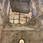 A capela primitiva da Igreja de Nossa Senhora da Conceição da Praia